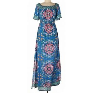 Flying Tomato Floral Maxi Dress - Size S - EUC